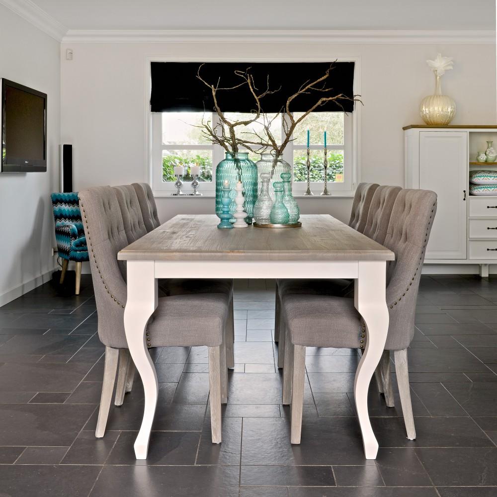 Tisch Weiß Landhaus Esstisch Weiß Landhaus Länge 220 Cm