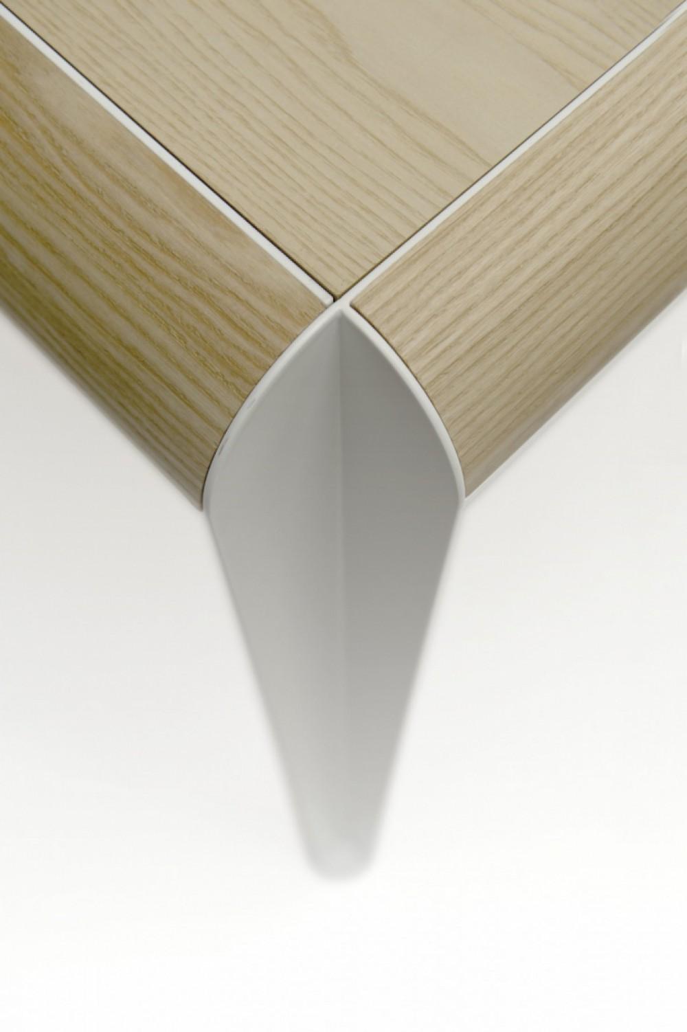Design tisch esstisch eiche natur tischplatte l nge 200 cm for Tisch design eiche
