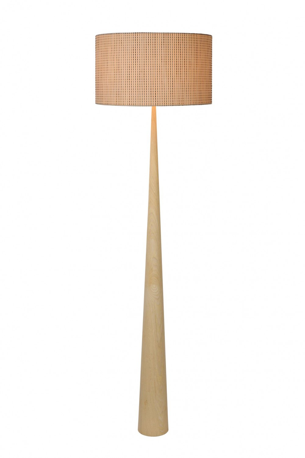 Stehleuchte Stehlampe Holz Hell Hohe 177 Cm