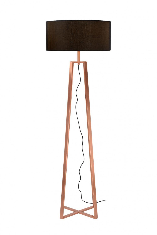Stehleuchte Stehlampe Kupfer Hohe 153 Cm