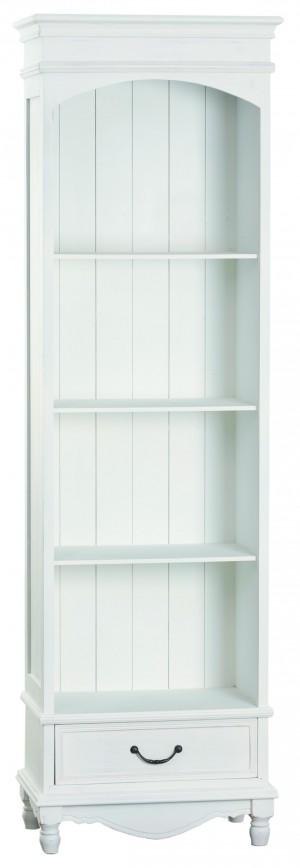 Bücherregal im Landhausstil, weiß, Breite 53 cm