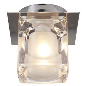 Deckenleuchte Aluminium/ Glas
