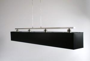 Moderne Hängeleuchte mit Lampenschirm, Pendellampe, Breite 100 cm
