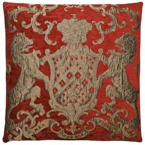 Dekokissen, Kissen, Farbe terracotta, Größe 55 x 55 cm