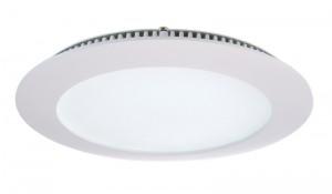 LED Deckeneinbaueuchte aus Aluminium, Glas, weiß, 6000K