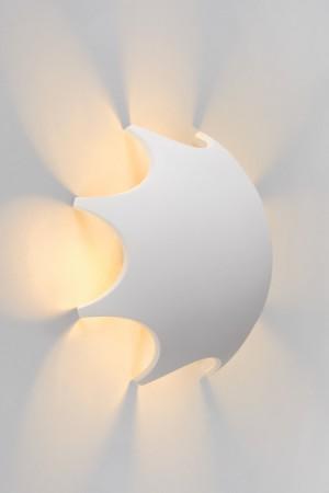 LED Wandleuchte weiß, LED Außenwandleuchte weiß, LED Außenleuchte Garten weiß