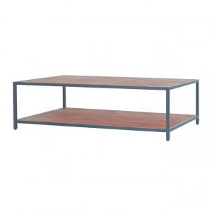 Couchtisch Metall Industrie, Tisch Landhaus Metall, Beistelltisch Industriedesign Metall, Breite 120 cm