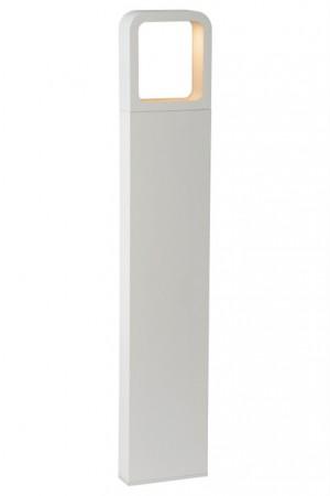 LED Gartenleuchte weiß, Außenstandleuchte weiß, LED Standleuchte außen weiß, Höhe 65 cm