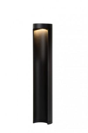 LED Außenstandleuchte schwarz, Standleuchte außen schwarz, Höhe 45 cm