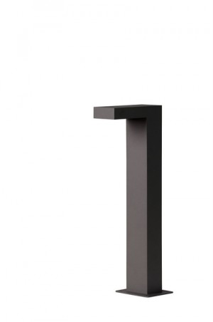 LED Außenstandleuchte schwarz, Standleuchte außen schwarz, Höhe 40 cm