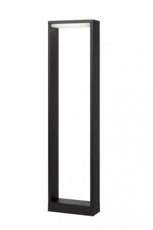LED Außenstandleuchte schwarz, Standleuchte außen schwarz, Höhe 60 cm