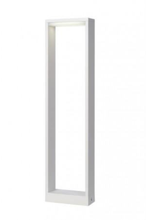 LED Außenstandleuchte weiß, Standleuchte außen weiß, Höhe 60 cm