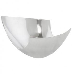 Design Schüssel in Aluminium.