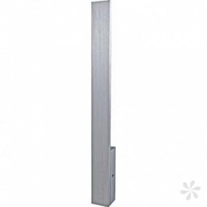 LED Wandleuchte aus gebürstetem Aluminium