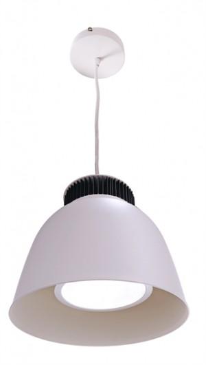 LED Pendelleuchte aus Aluminium, weiß, schwarz