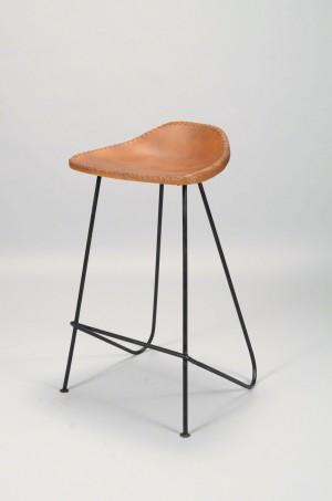 Barhocker Industrie, Hocker Metall Industriedesign, Sitzhöhe 68 cm