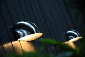 Wandleuchte rostfreier Edelstahl PVC Metall Outdoor schlagfestes Material