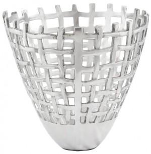 Design Obstkorb in Aluminium.