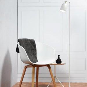 Stehleuchte Metall PVC weiß LED