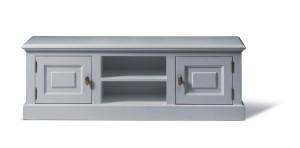Lowboard grau, Fernseheschrank im Landhausstil in vier Farben
