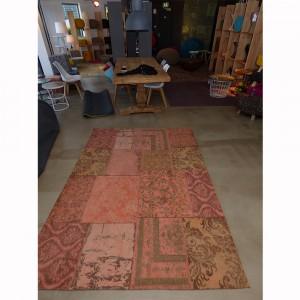 Teppich Patchwork Orange, Größe 200 x 300 cm