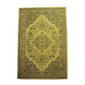Teppich Ornament Farbe Gelb, Größe 170 x 240 cm