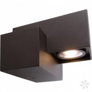 LED Wand-Außenleuchte, Outdoorleuchte aus Alu Druckguß, anthrazit