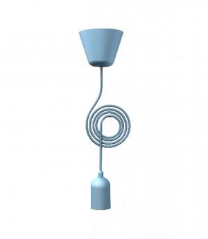 Kabel für eine Pendelleuchte, Farbe blau, Ø 12 cm