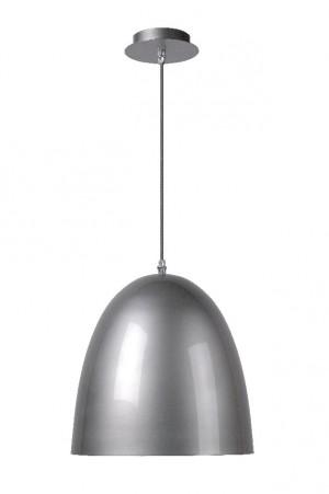 Pendelleuchte aus Stahl in grau im modernen Stil