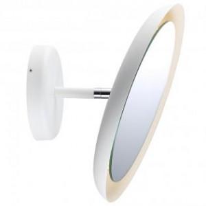 LED Moderne Badwandleuchte, Spiegel, Farbe weiß, Ø 30 cm