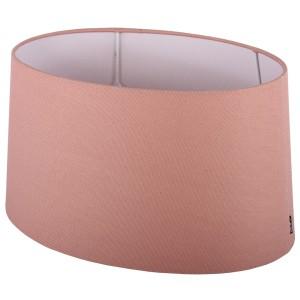 Lampenschirm rosa oval  Ø 25 cm