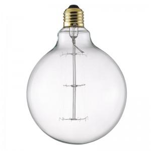 Leuchtmittel, Glühbirne, E27 40W, Ø 12,5 cm