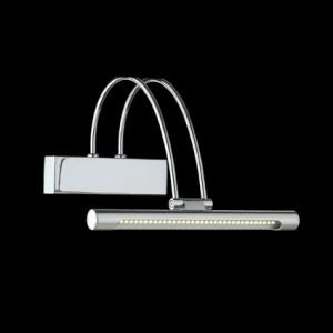 Wandleuchte Metall chrom/ nickel LED