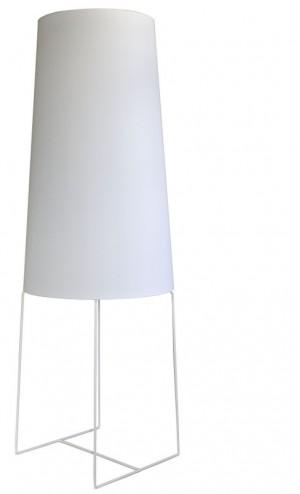 XXL Design-Stehleuchte, moderne Stehlampe in fünf  verschiedenen Farben, weiß