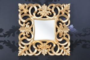 Wandspiegel modern/ Barock, gold