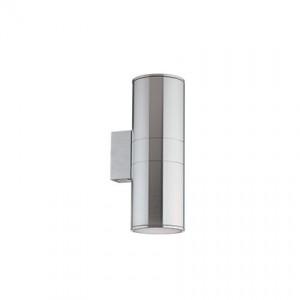 Outdoorleuchte gebürstetes Alu-Spritzguss Pirexglas transparent