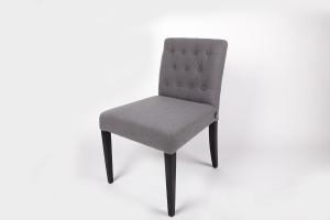 Stuhl gepolstert Farbe grau, Esszimmerstuhl
