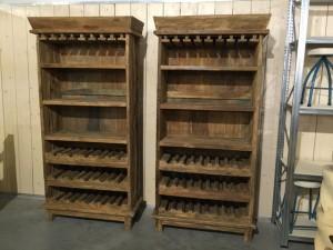 Weinschrank aus Massivholz, Weinschrank Unikat Massivholz