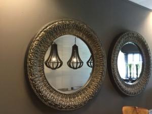 Spiegel rund, Wandspiegel rund, Durchmesser 130 cm