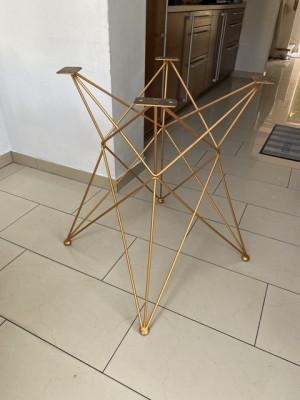 Tischgestell Gold, Metall Tischgestell