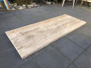 Tischplatte Holz massiv, massive Holztischplatte, Maße 260x100 cm