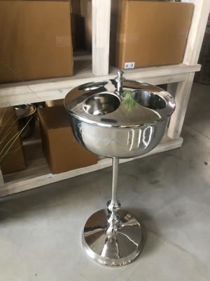 Sektkühler mit Standfuß, Weinkühler mit Standfuß, Champagne Kühler mit Standfuß, Ø 35 cm