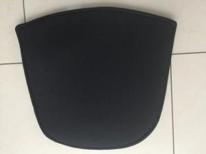 Sitzkissen für den Gartenstuhl, Sitzkissen schwarz