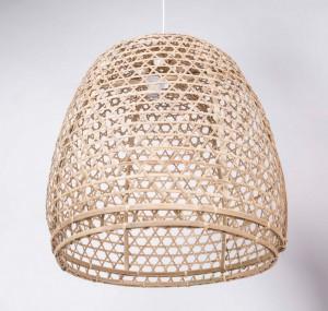 Hängeleuchte Bamboo , Pendelleuchte, Lampenschirm aus Bambus, Ø 60 cm