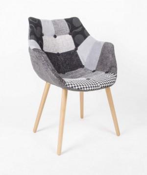 Design Stuhl mit Armlehne