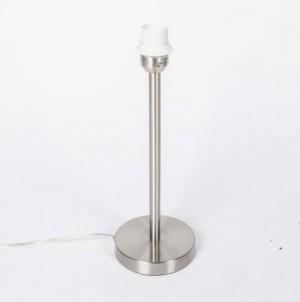 Lampenfuß für eine Tischleuchte, satiniert, Höhe 39 cm