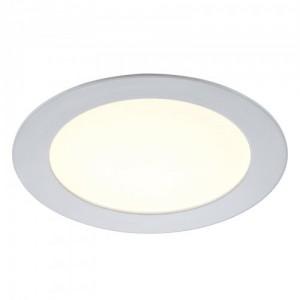LED Moderne Deckenleuchte, Outdoorleuchte, Farbe weiß, dimmbar, Ø 17,5 cm