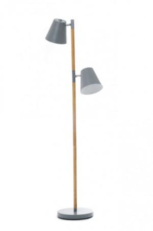 Stehleuchte, moderne Stehlampe in zwei Farben