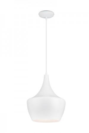 Hängelampe Weiß, Hängeleuchte, Pendelleuchte, Durchmesser 30 cm