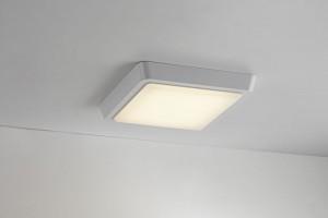 LED Moderne Deckenleuchte, Wandleuchte, Farbe weiß, 23x23 cm